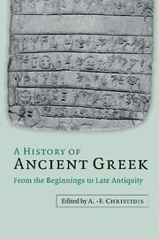 A History of Ancient Greek