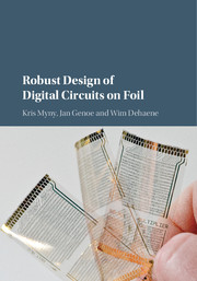 Robust Design of Digital Circuits on Foil