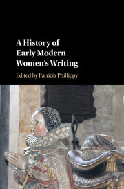 A History of Early Modern Women's Writing