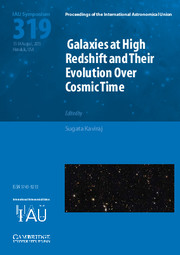 Galaxies at High Redshift and their Evolution over Cosmic Time (IAU S319)