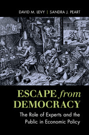Escape from Democracy