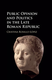 Public Opinion and Politics in the Late Roman Republic