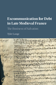 Excommunication for Debt in Late Medieval France