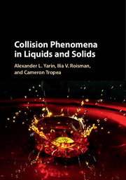 Collision Phenomena in Liquids and Solids