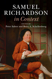 Samuel Richardson in Context