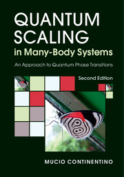 Quantum Scaling in Many-Body Systems
