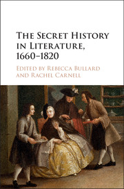 The Secret History in Literature, 1660–1820