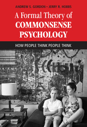 A Formal Theory of Commonsense Psychology