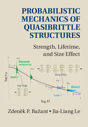 Probabilistic Mechanics of Quasibrittle Structures