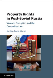 Property Rights in Post-Soviet Russia