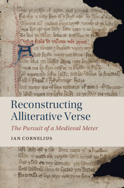 Reconstructing Alliterative Verse