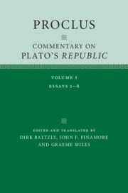 Proclus: Commentary on Plato's 'Republic'