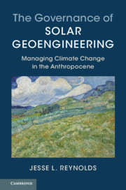 The Governance of Solar Geoengineering