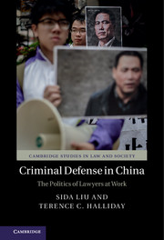 Criminal Defense in China