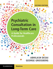 Psychiatric Consultations in Long-Term Care