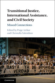 Transitional Justice, International Assistance, and Civil Society