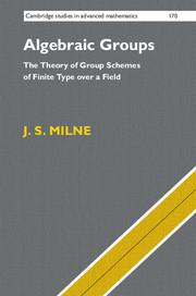 Algebraic Groups