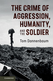 The Crime of Aggression, Humanity, and the Soldier