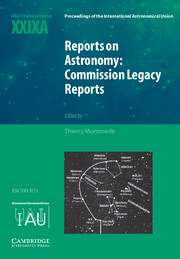 Reports on Astronomy: Commission Legacy Reports (IAU XXIXA)