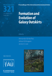 Formation and Evolution of Galaxy Outskirts (IAU S321)