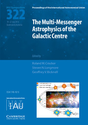 The Multi-Messenger Astrophysics of the Galactic Centre (IAU S322)