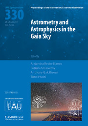 Astrometry and Astrophysics in the Gaia Sky (IAU S330)