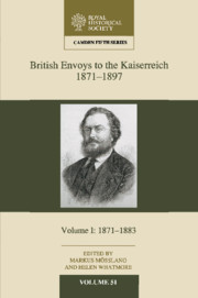 British Envoys to the Kaiserreich, 1871–1897