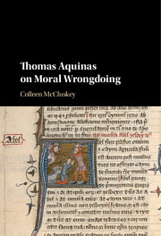 Thomas Aquinas on Moral Wrongdoing