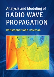Analysis and modeling radio wave propagation rf and microwave look inside analysis and modeling of fandeluxe Gallery
