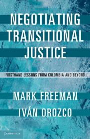 Negotiating Transitional Justice