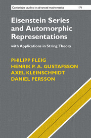 Eisenstein Series and Automorphic Representations