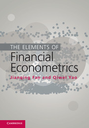 The Elements of Financial Econometrics