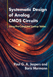 Systematic Design of Analog CMOS Circuits