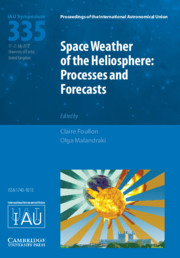 Space Weather of the Heliosphere (IAU S335)