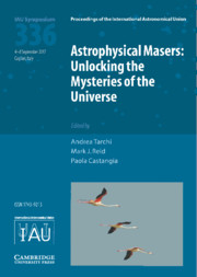Astrophysical Masers (IAU S336)