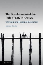 The Development of the Rule of Law in ASEAN