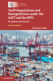 Tariff Negotiations and Renegotiations under the GATT and the WTO