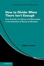 How to Divide When There Isn't Enough
