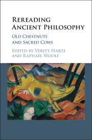 Rereading Ancient Philosophy