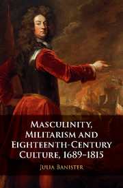 Masculinity, Militarism and Eighteenth-Century Culture, 1689–1815