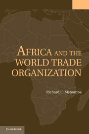 Africa and the World Trade Organization