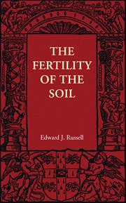 The Fertility of the Soil