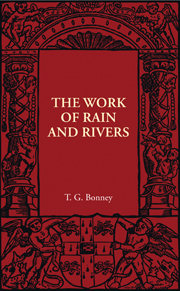 The Work of Rain and Rivers