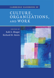 Cambridge Handbook of Culture, Organizations, and Work