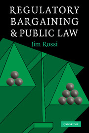Regulatory Bargaining and Public Law