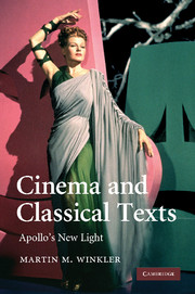 Cinema and Classical Texts