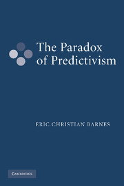 The Paradox of Predictivism