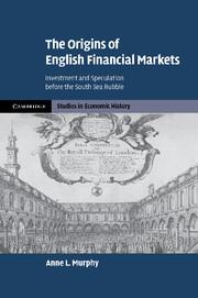The Origins of English Financial Markets