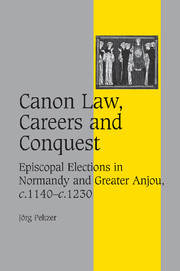 Canon Law, Careers and Conquest