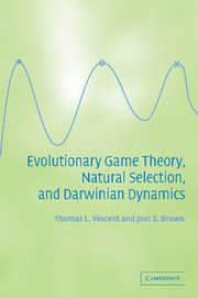 Evolutionary Game Theory, Natural Selection, and Darwinian Dynamics